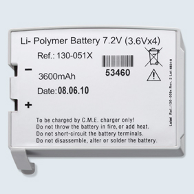 Li-Polymer Battery for BodyGuard 323 - Accessories Electronic Infusion Pumps