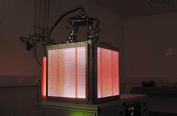Low-pressure glow discharge plasma