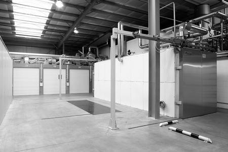 View of the pfm medical msg ethylene oxide sterilisation chambers